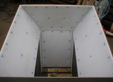 聚乙烯煤仓衬板